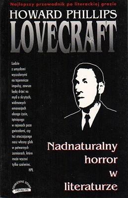 Okładka książki Nadnaturalny horror w literaturze