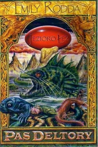 Okładka książki Jezioro Łez