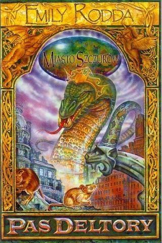 Okładka książki Miasto Szczurów