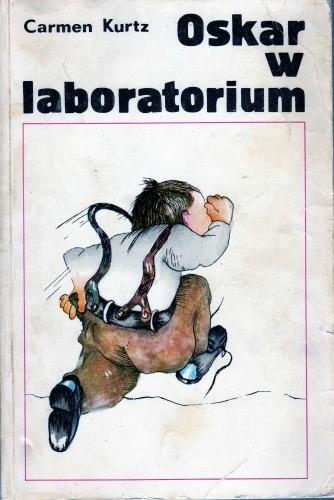 Okładka książki Oskar w laboratorium