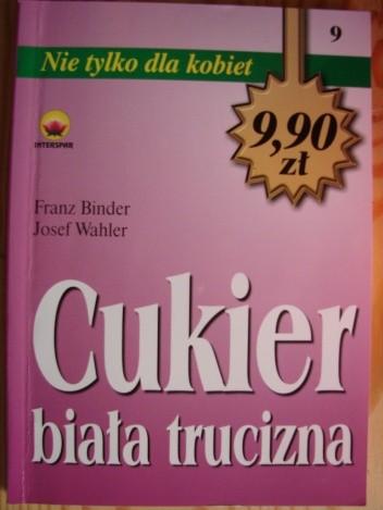 Okładka książki Cukier biała trucizna