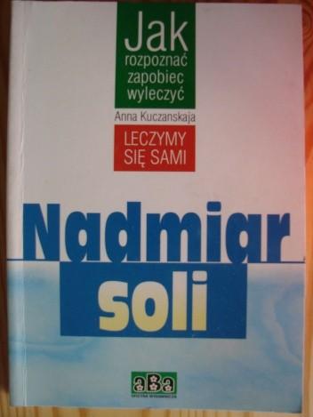 Okładka książki Nadmiar Soli