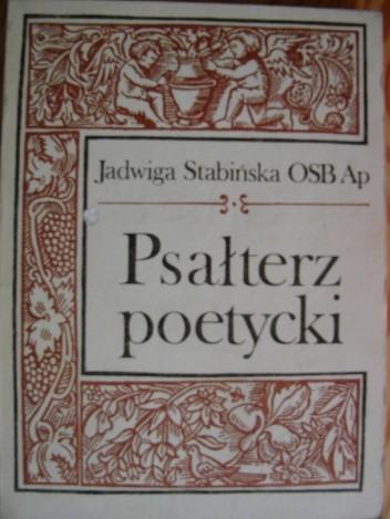 Okładka książki Psałterz poetycki