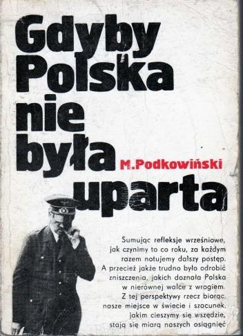 Okładka książki Gdyby Polska nie była uparta