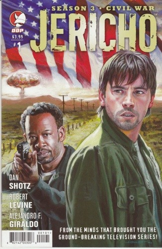 Okładka książki Jericho Season 3: Civil War