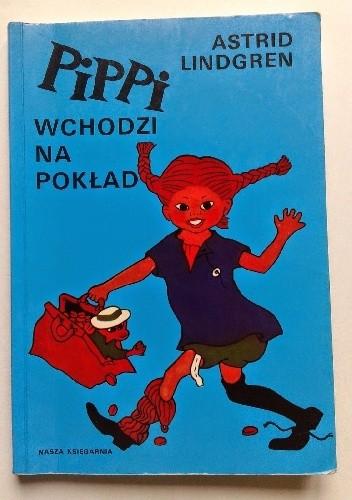 Okładka książki Pippi wchodzi na pokład