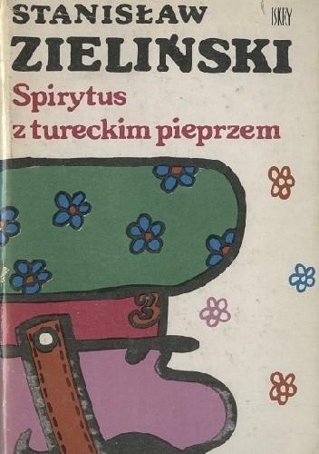 Okładka książki Spirytus z tureckim pieprzem