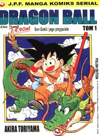 Okładka książki Dragon Ball tom 1. Son Goku i jego przyjaciele