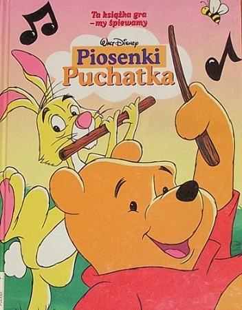 Okładka książki Piosenki Puchatka