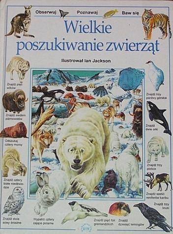Okładka książki Wielkie poszukiwanie zwierząt