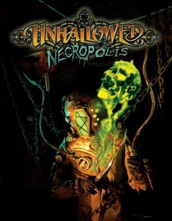 Okładka książki Unhallowed Necropolis
