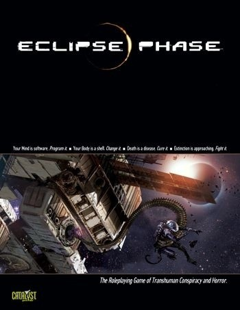 Okładka książki Eclipse Phase