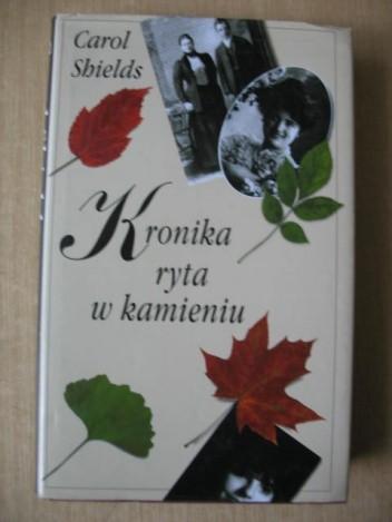 Okładka książki Kronika ryta w kamieniu