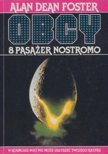 Okładka książki Obcy. 8 pasażer Nostromo
