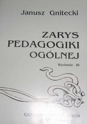 Okładka książki Zarys pedagogiki ogólnej