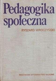 Okładka książki Pedagogika społeczna