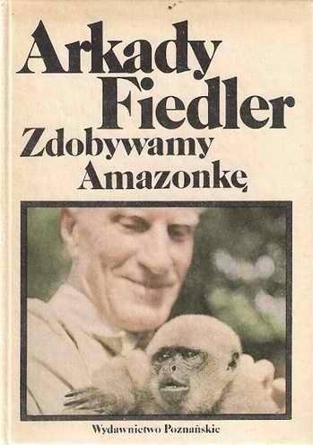 Okładka książki Zdobywamy Amazonkę