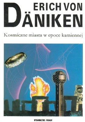 Okładka książki Kosmiczne miasta w epoce kamiennej