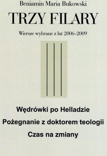 Okładka książki Trzy filary