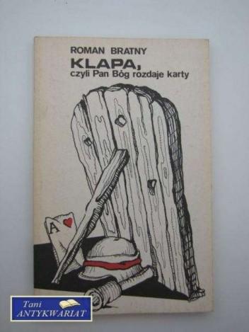 Okładka książki Klapa, czyli Pan Bóg rozdaje karty. Opowiadania