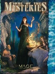 Okładka książki Tome of the Mysteries