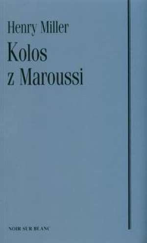 Okładka książki Kolos z Maroussi