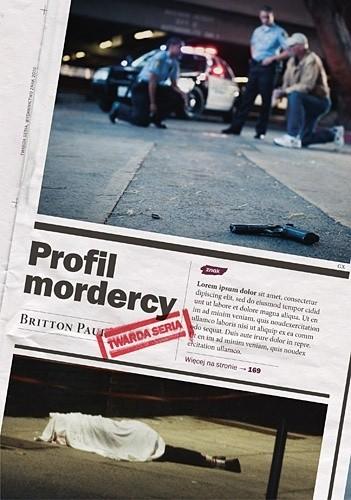 Okładka książki Profil mordercy