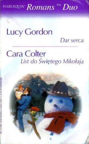 Okładka książki Dar serca. List do Świętego Mikołaja