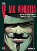 Okładka książki V jak Vendetta, tom I