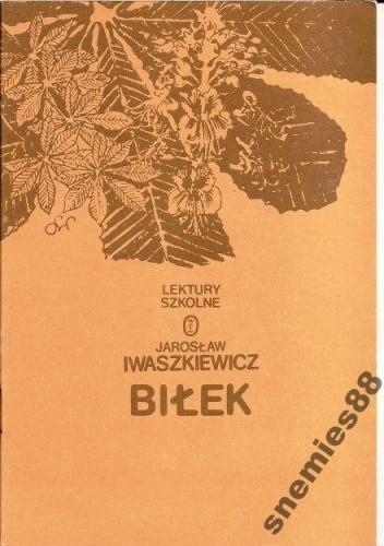 Okładka książki Biłek