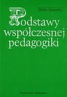 Okładka książki Podstawy współczesnej pedagogiki