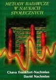 Okładka książki Metody badawcze w naukach społecznych