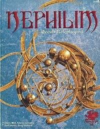 Okładka książki Nephilim. Occult Roleplaying