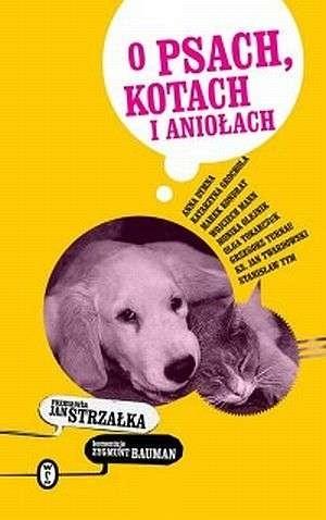 Okładka książki O psach, kotach i aniołach