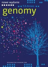 Okładka książki Genomy