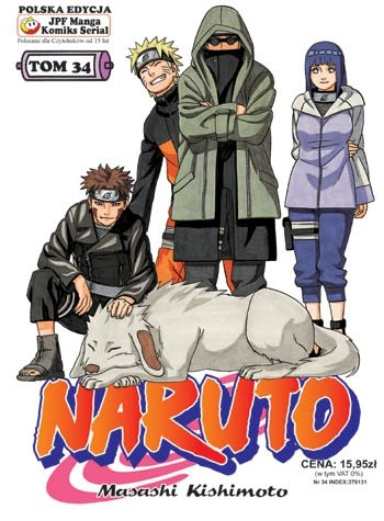 Okładka książki Naruto tom 34 -  Spotkanie po latach