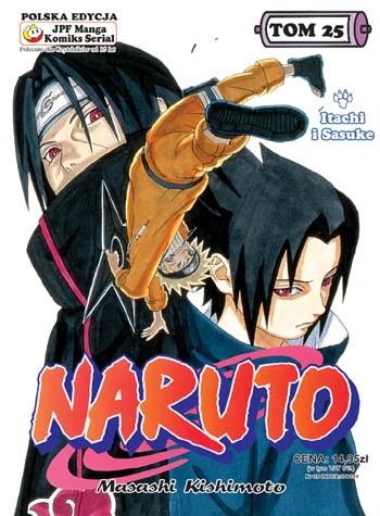 Okładka książki Naruto tom 25 - Itachi i Sasuke