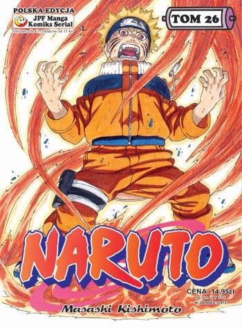 Okładka książki Naruto tom 26 - Dzień rozstania