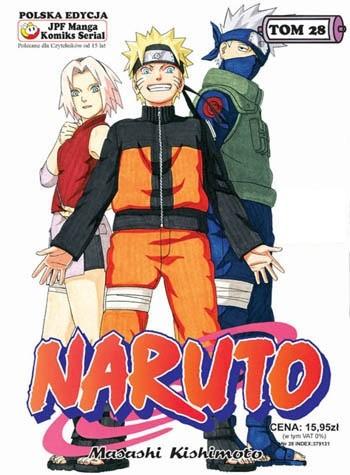 Okładka książki Naruto tom 28 -  Powraca Naruto