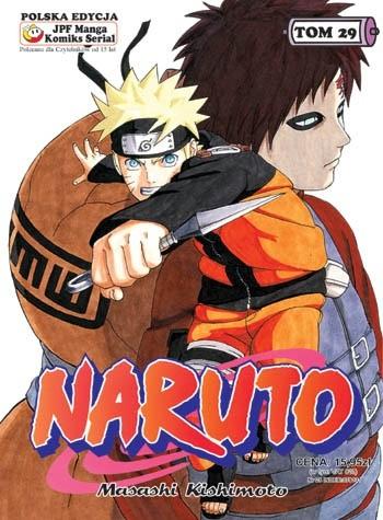 Okładka książki Naruto tom 29 - Kakashi kontra Itachi