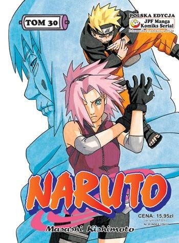 Okładka książki Naruto tom 30 -  Sakura i Chiyo