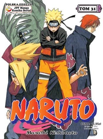 Okładka książki Naruto tom 31 - Powierzona miłość