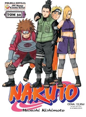 Okładka książki Naruto tom 32 - Droga ku Sasuke