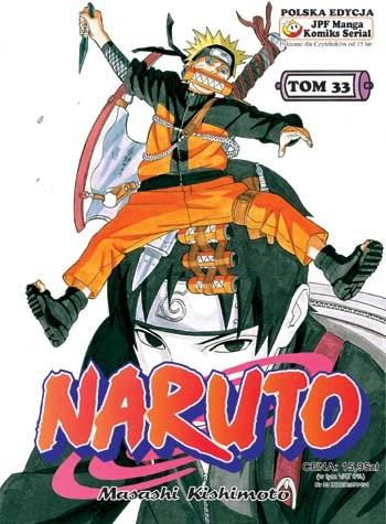 Okładka książki Naruto tom 33 - Tajna misja