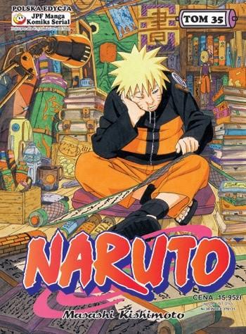 Okładka książki Naruto tom 35 - Nowy tandem