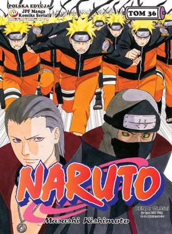 Okładka książki Naruto tom 36 - Drużyna nr 10