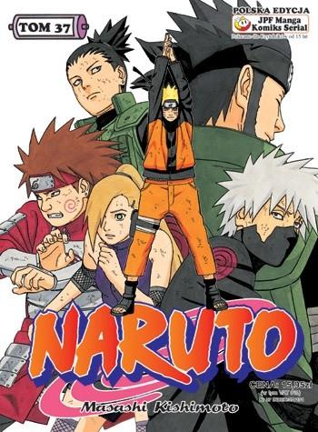 Okładka książki Naruto tom 37 - Walka Shikamaru