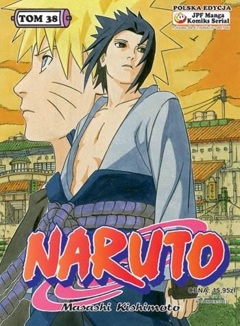 Okładka książki Naruto tom 38 - Rezultat treningów