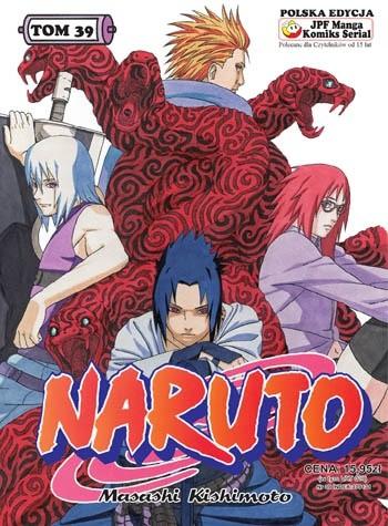 Okładka książki Naruto tom 39 -  W drogę