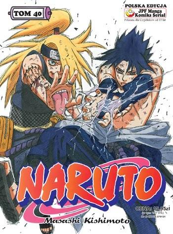 Okładka książki Naruto tom 40 - Sztuka ostateczna